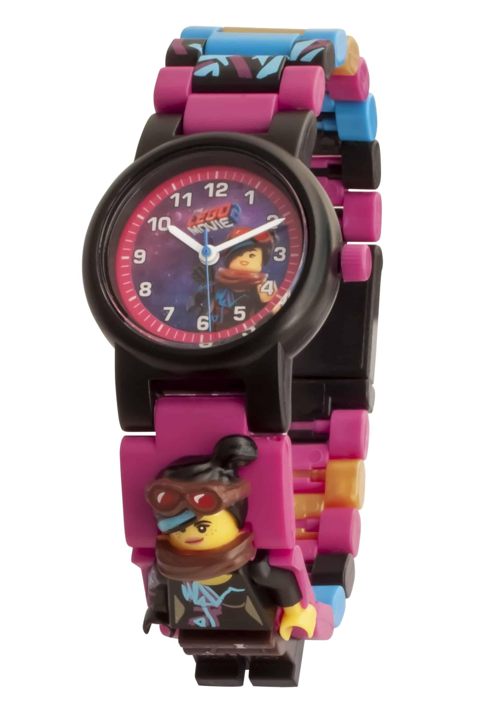 horloge met schakels van wyldstyle minifiguur uit the lego movie 2 5005703