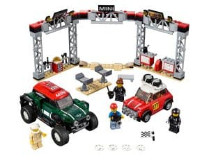 lego 1967 mini cooper s rally en 2018 mini john cooper works buggy 75894