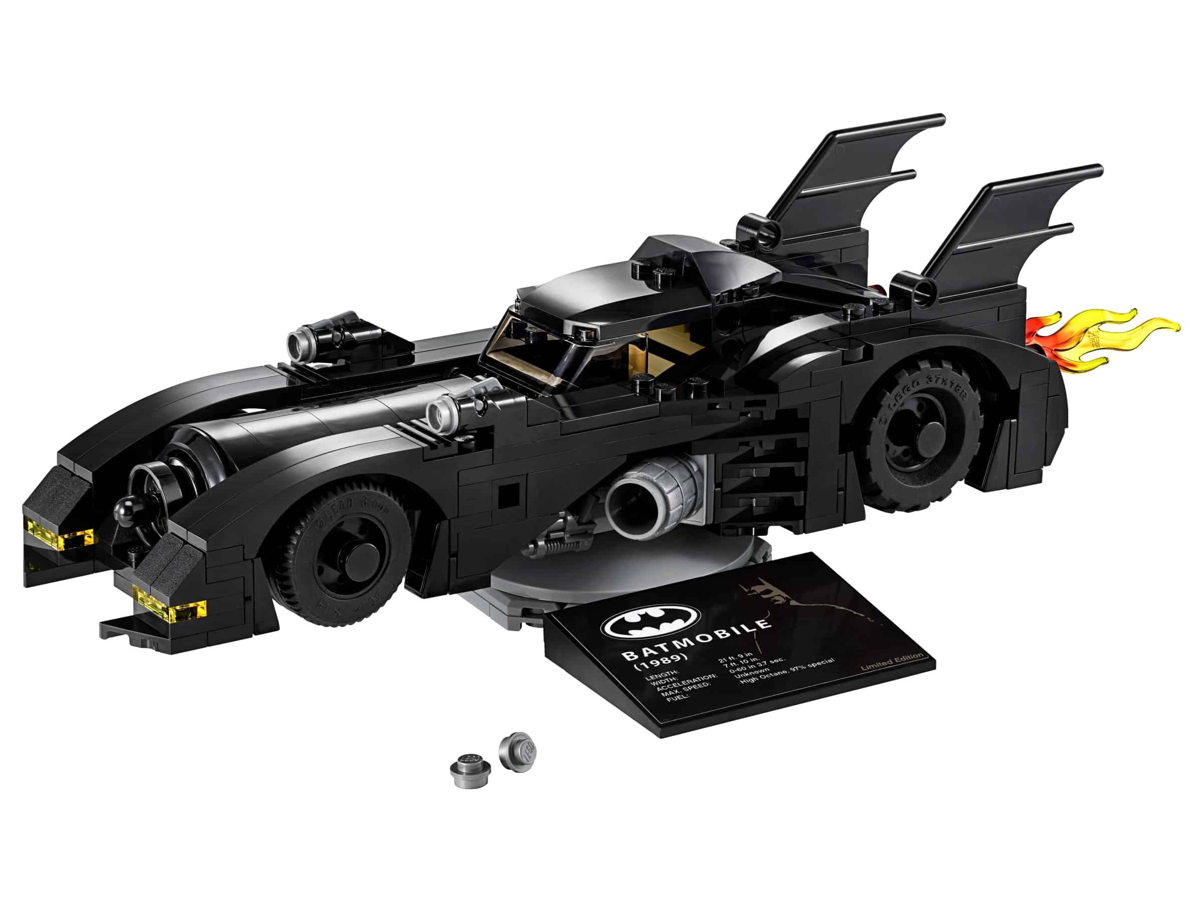 lego 1989 batmobile limited edition 40433
