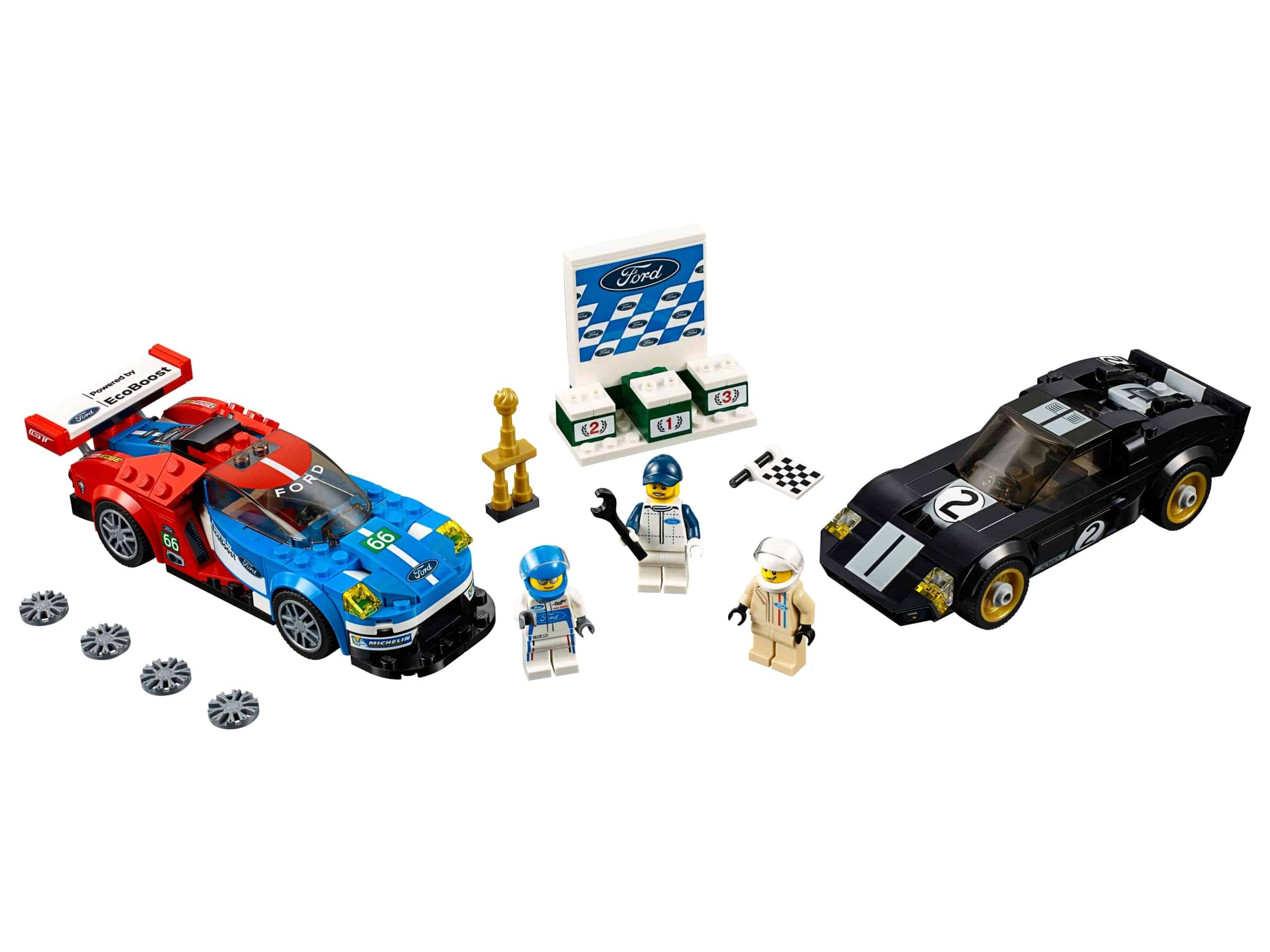 lego 2016 ford gt 1966 ford gt40 75881