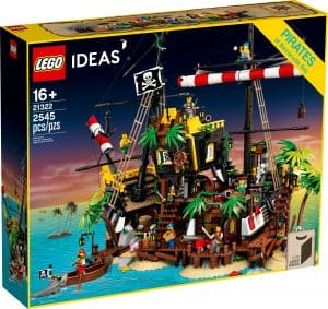 LEGO 21322 Piraten van Barracuda Baai