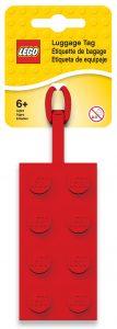 lego 2x4 rood bagagelabel 5005542