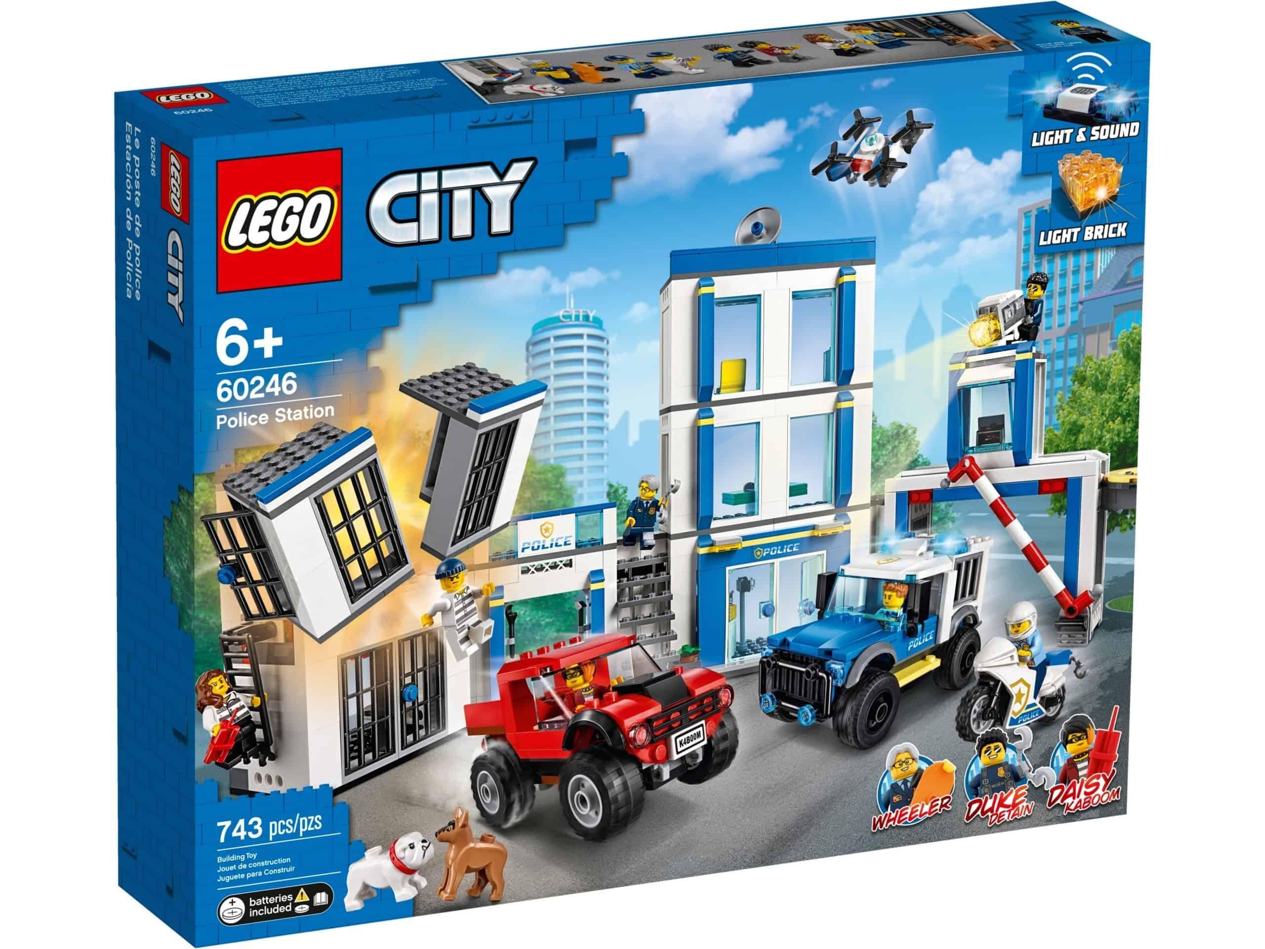 LEGO 60246 Politiebureau