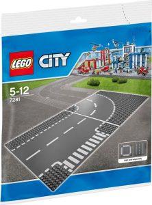 LEGO 7281 T-kruising en bocht