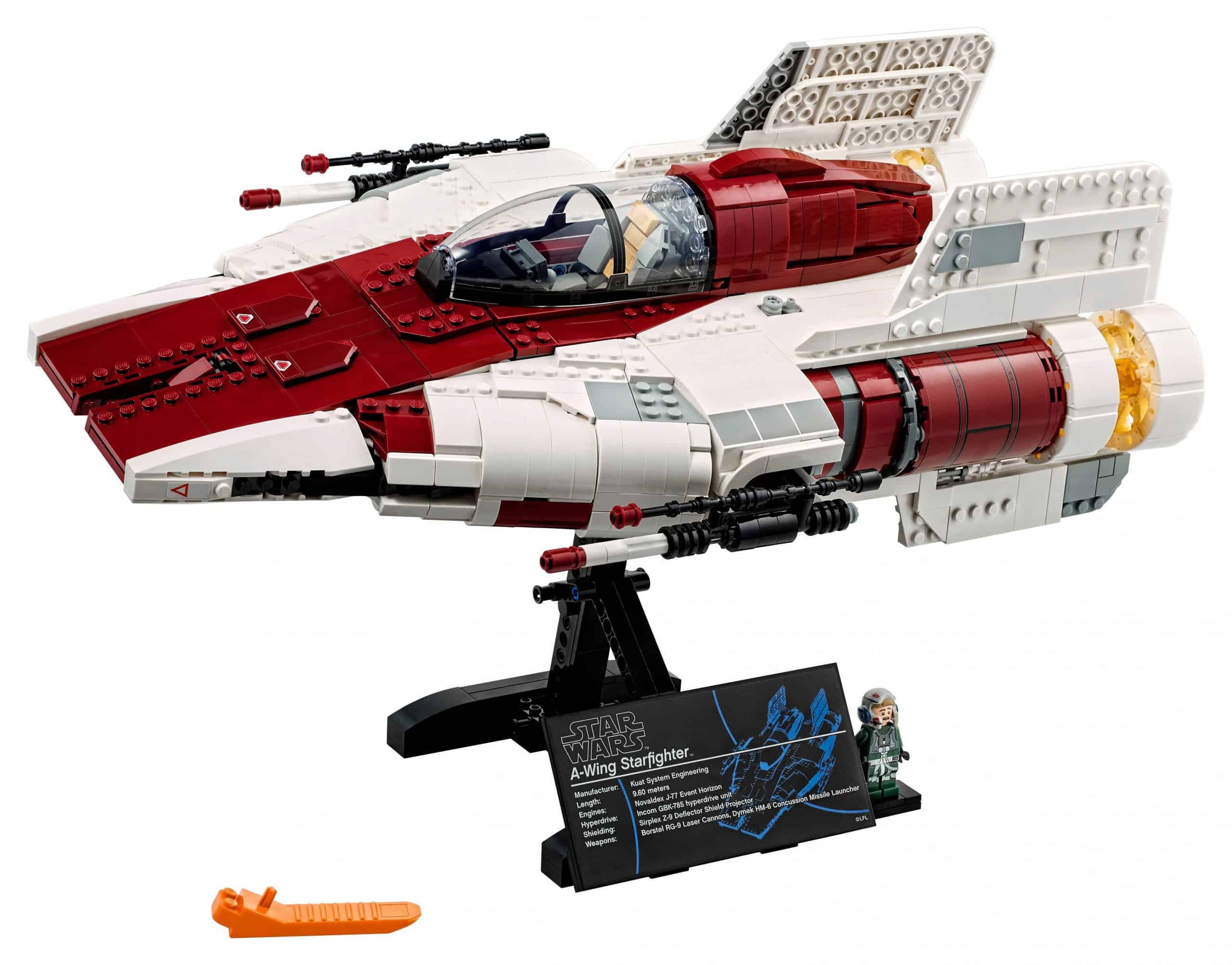lego a wing starfighter 75275 scaled