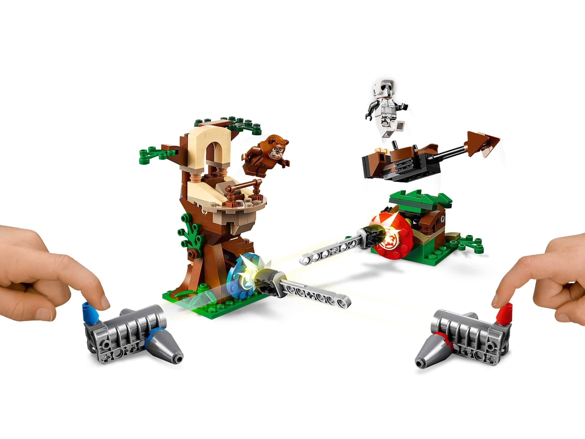 lego action battle aanval op endor 75238