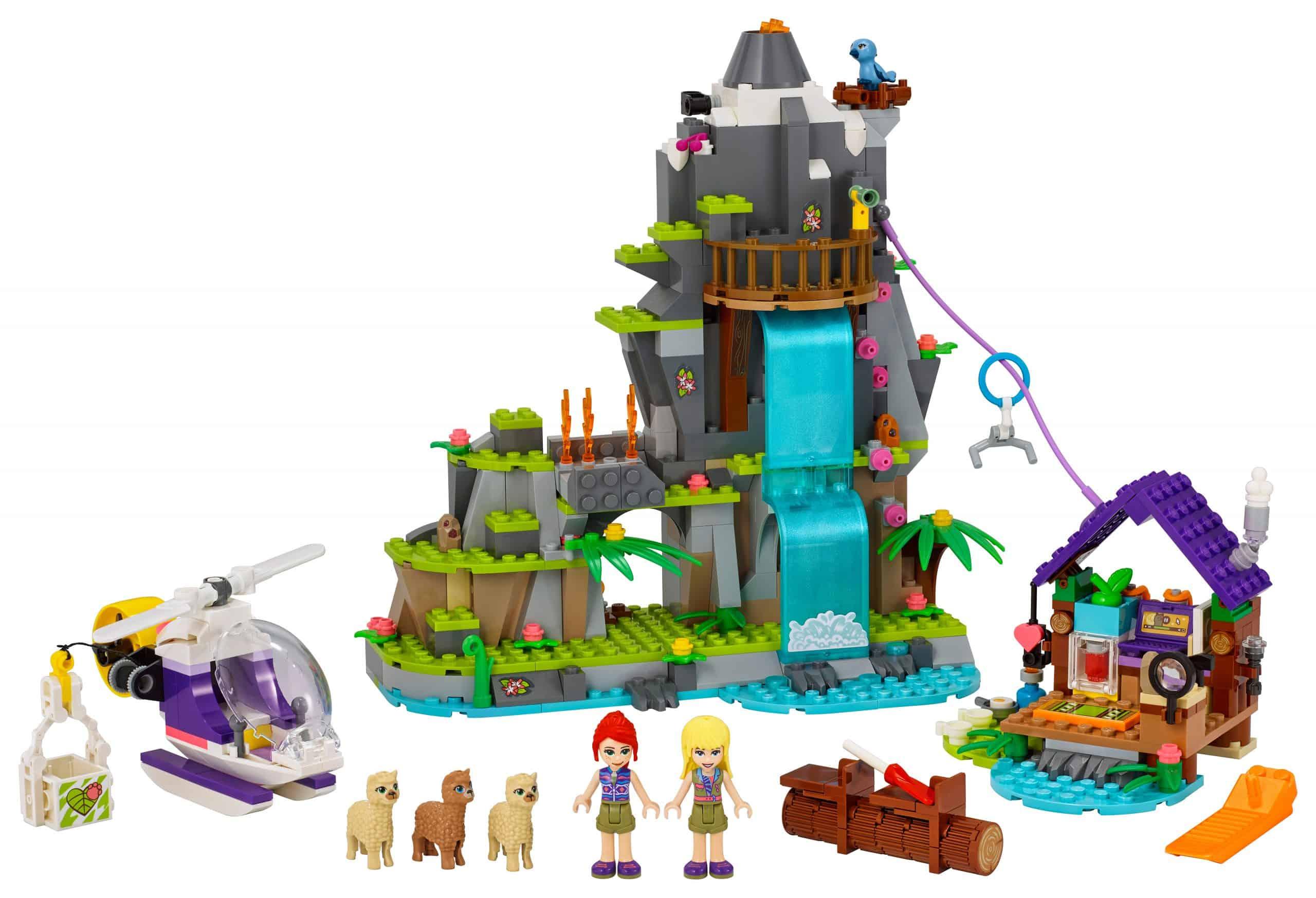 LEGO Alpaca berg jungle reddingsactie 41432