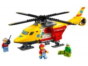 lego ambulancehelikopter 60179