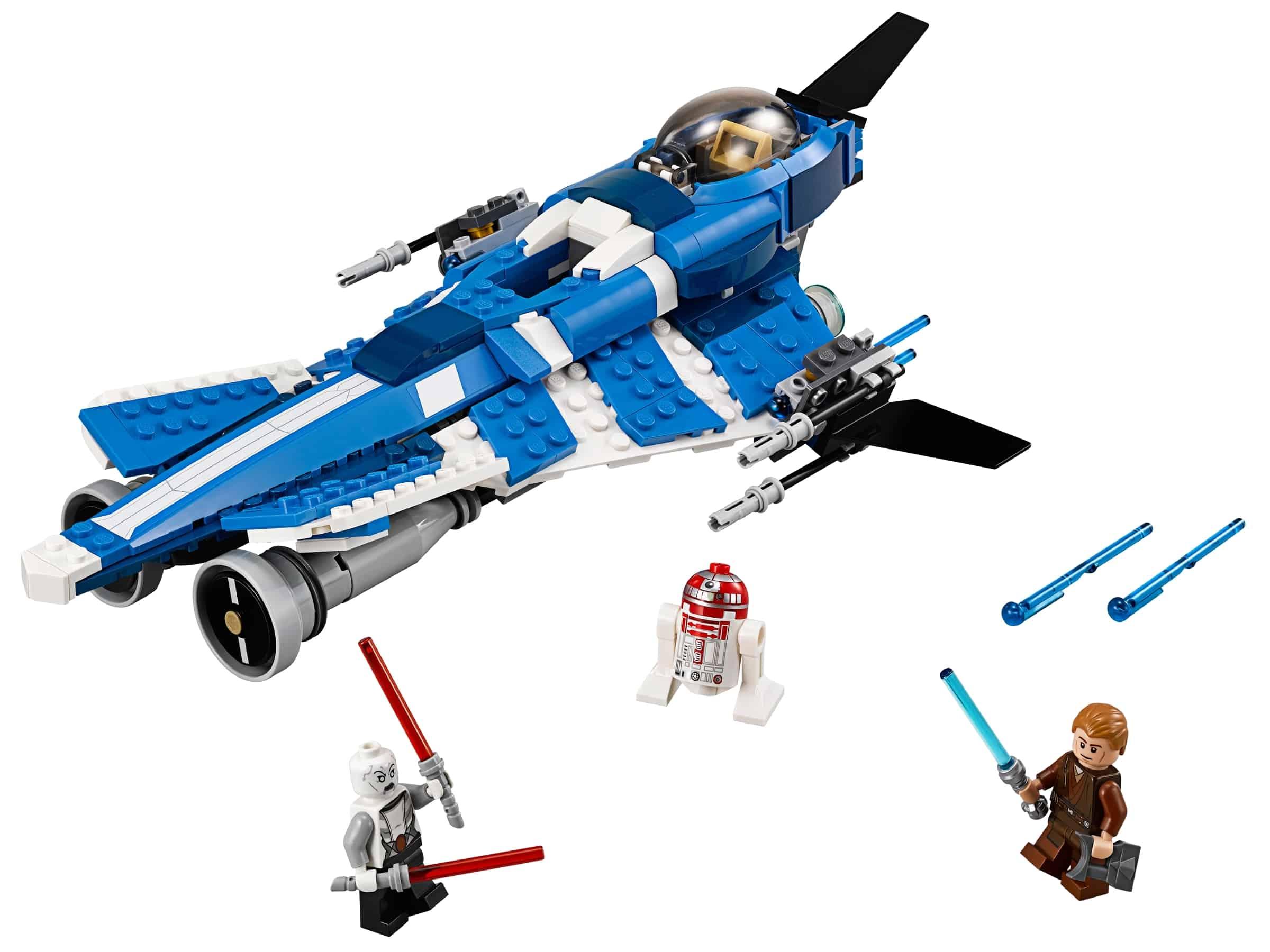 lego anakins custom jedi starfighter 75087