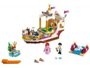 lego ariels koninklijke feestboot 41153