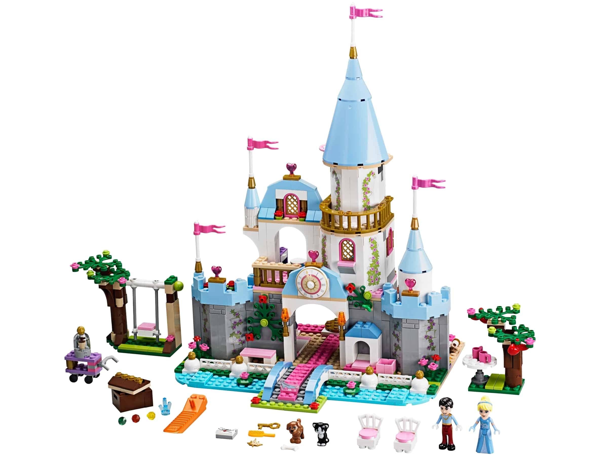 lego assepoesters romantische kasteel 41055