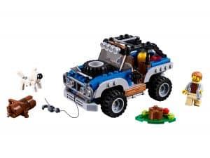 lego avonturen in de wildernis 31075