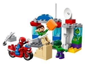 lego avonturen van spider man en hulk 10876