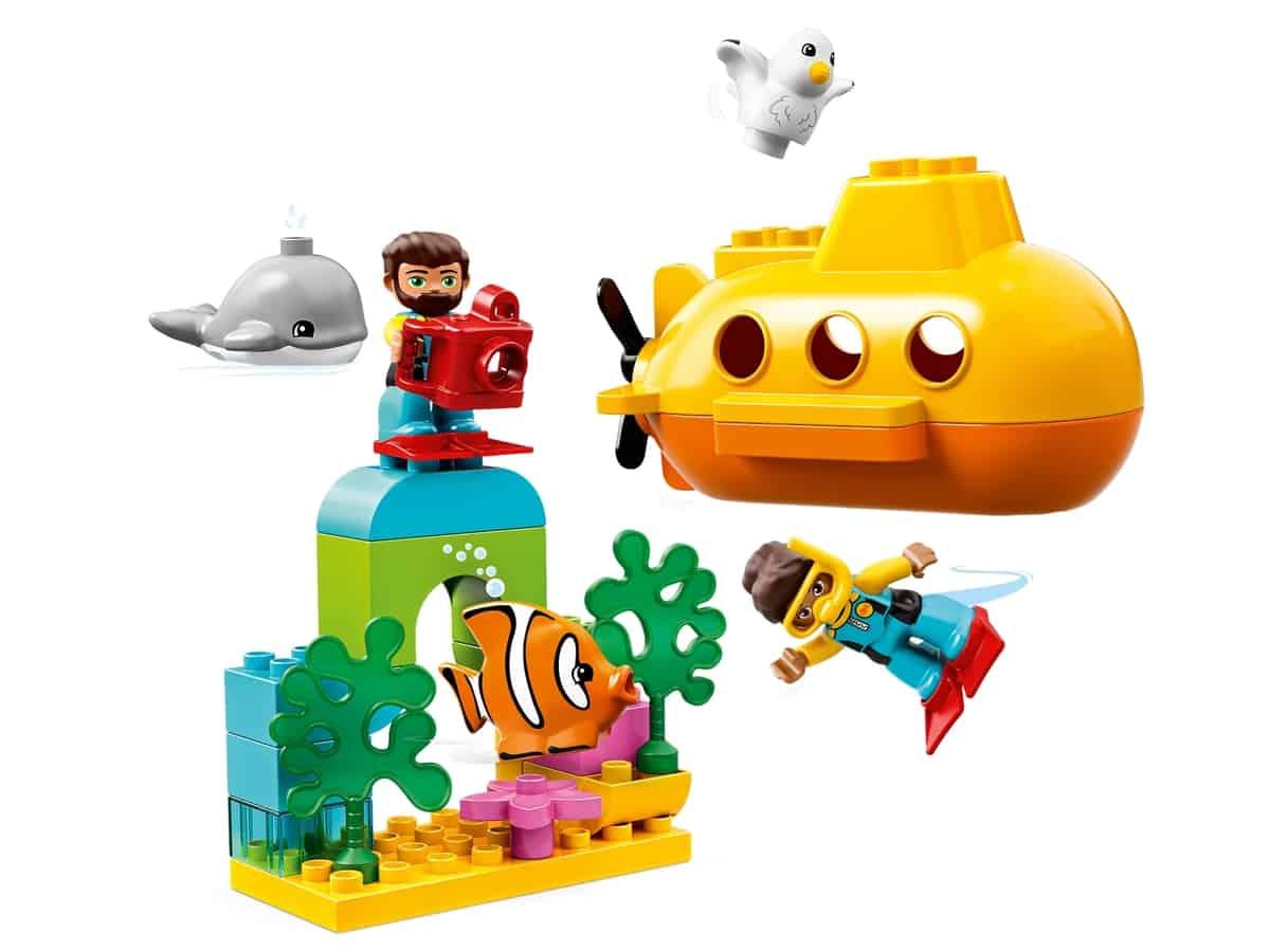 lego avontuur met onderzeeer 10910
