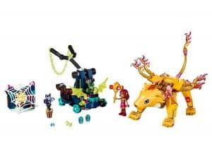lego azari en de vangst van de vuurleeuw 41192
