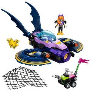 lego batgirl batjet achtervolging 41230