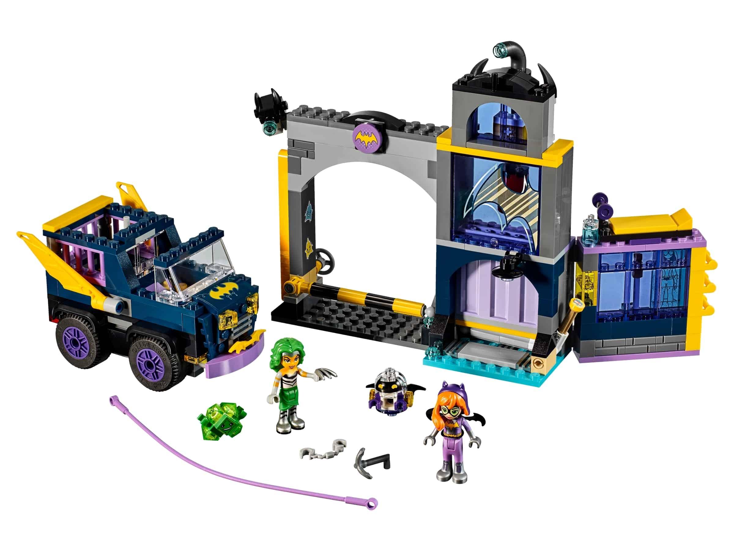 lego batgirl geheime bunker 41237