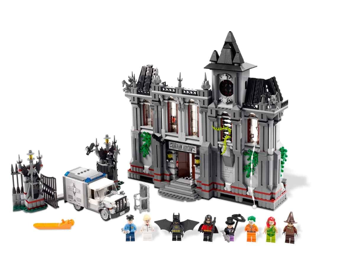 lego batman arkham asylum ontsnapping 10937
