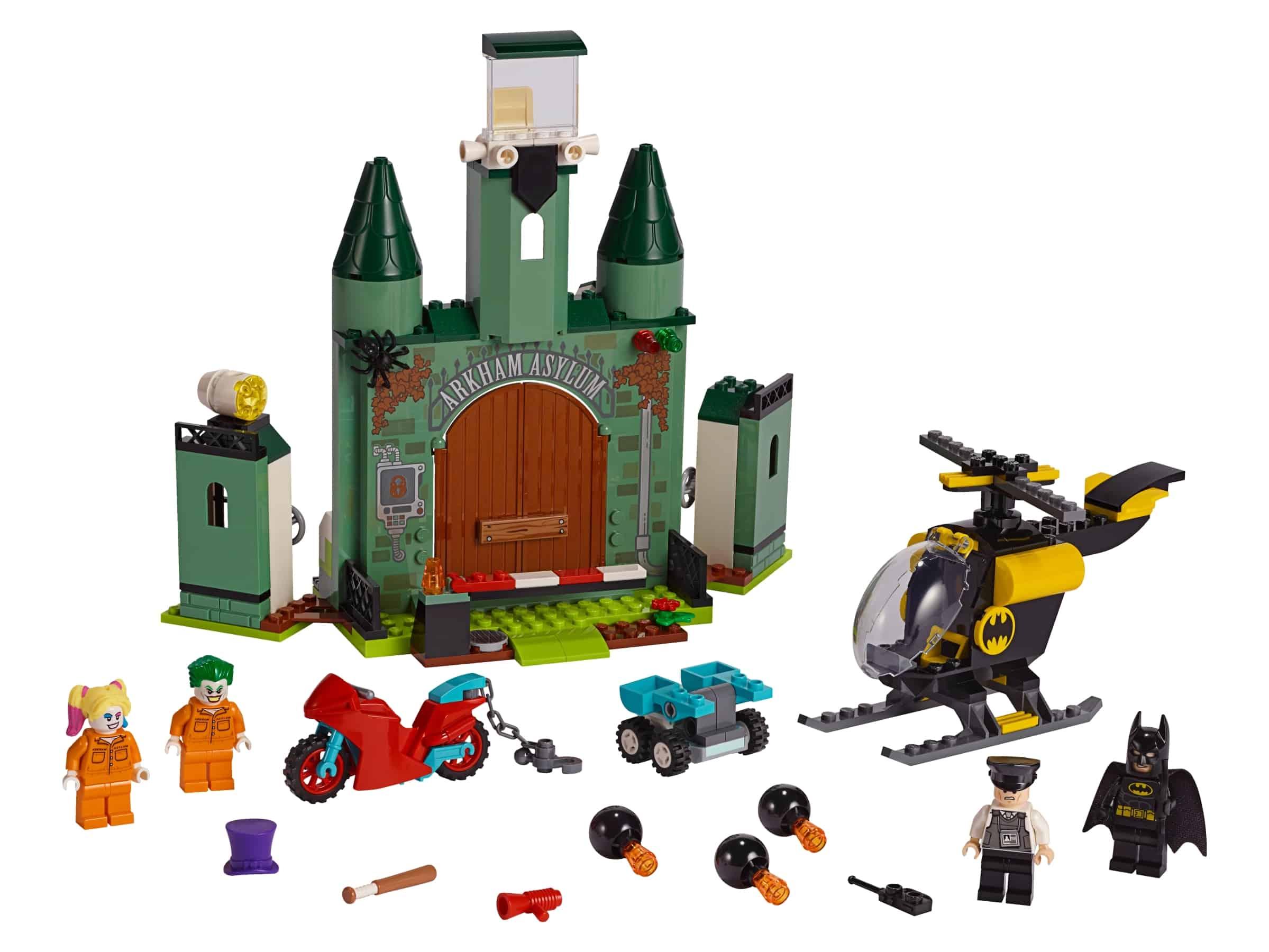 lego batman en de ontsnapping van the joker 76138