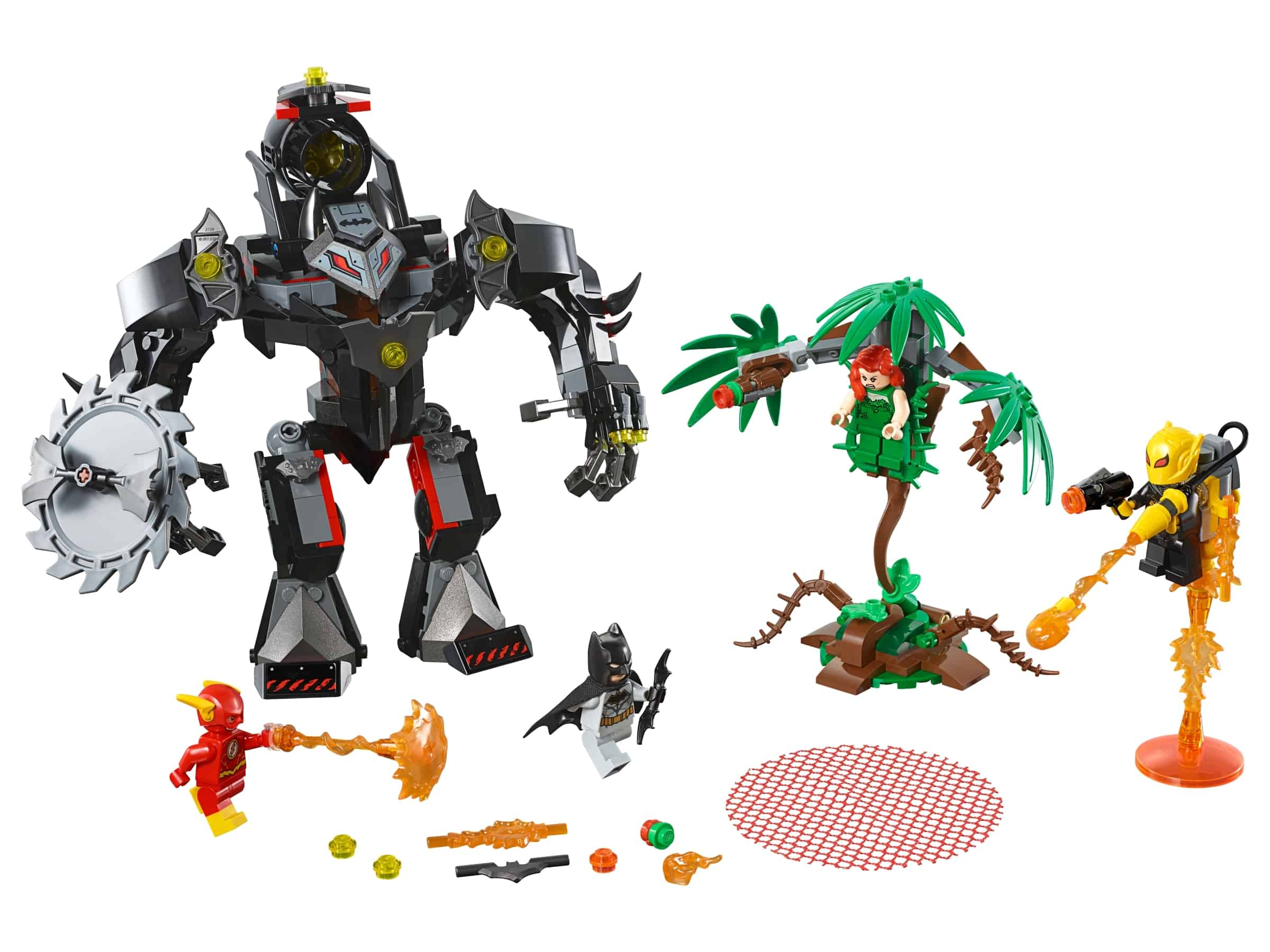 lego batman mecha vs poison ivy mecha 76117