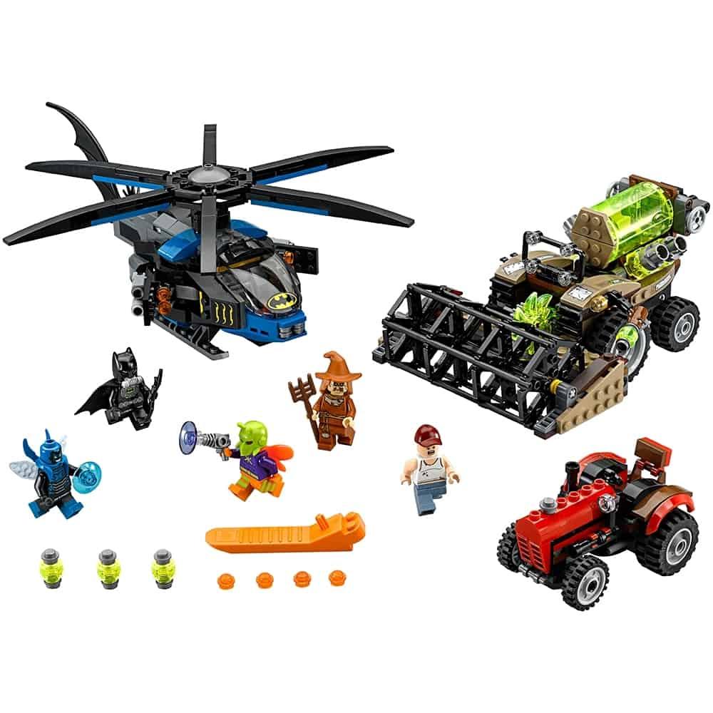 lego batman scarecrow zaait angst 76054