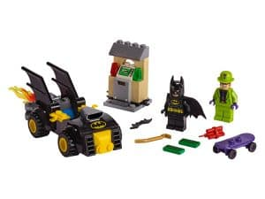 lego batman vs de roof van the riddler 76137