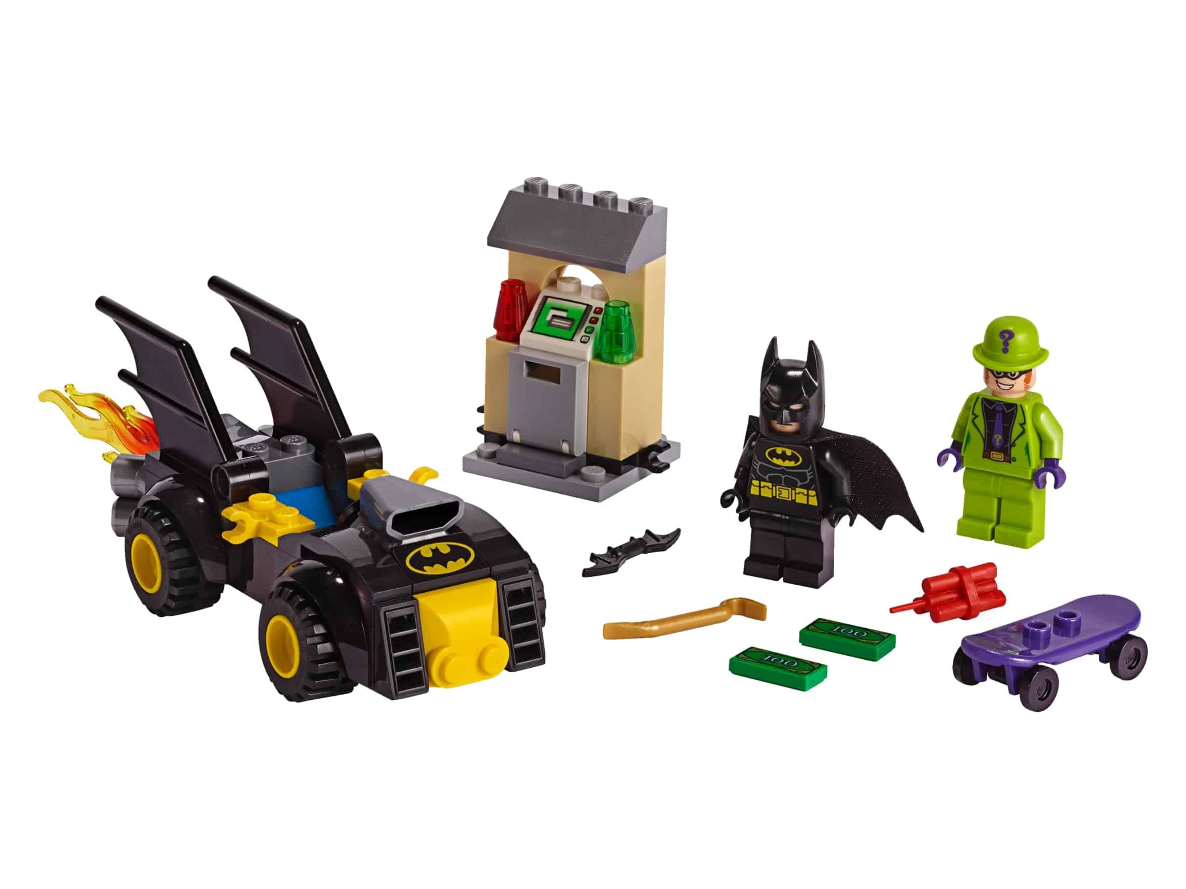 lego batman vs de roof van the riddler 76137