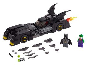 lego batmobile de jacht op the joker 76119