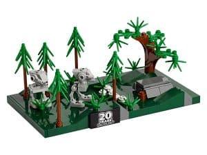 lego battle of endor micromodel 40362