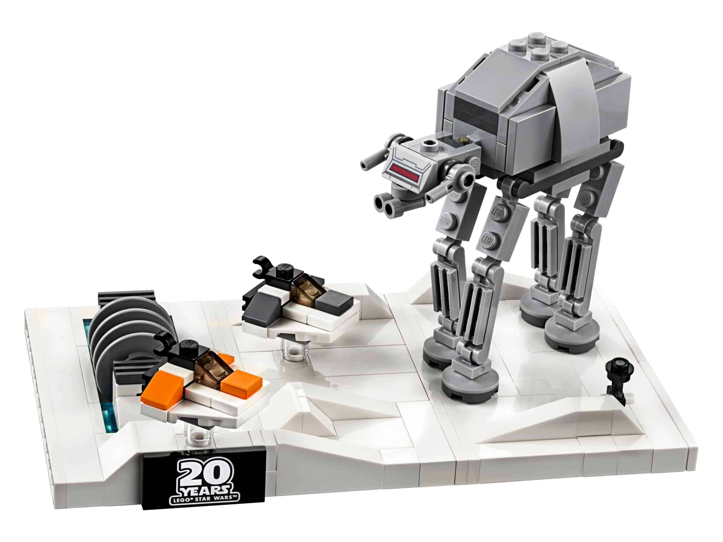 lego battle of hoth micromodel 40333