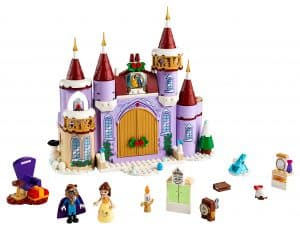 lego belles kasteel winterfeest 43180