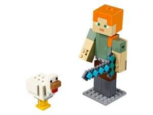 lego bigfig alex met kip 21149
