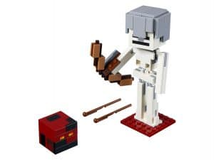 lego bigfig skelet met magmakubus 21150