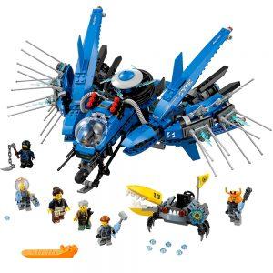 lego bliksemstraaljager 70614