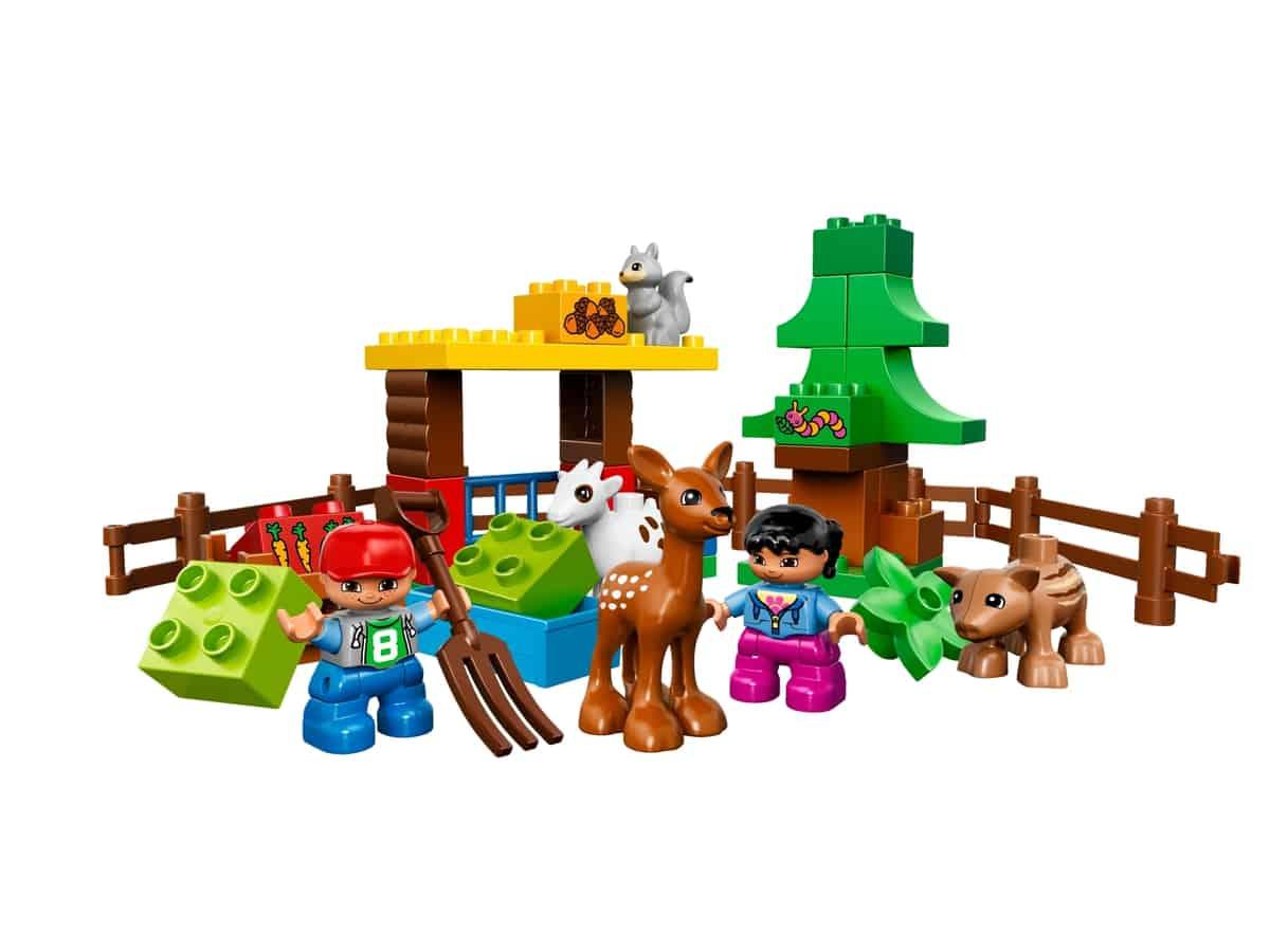 lego bos dieren 10582