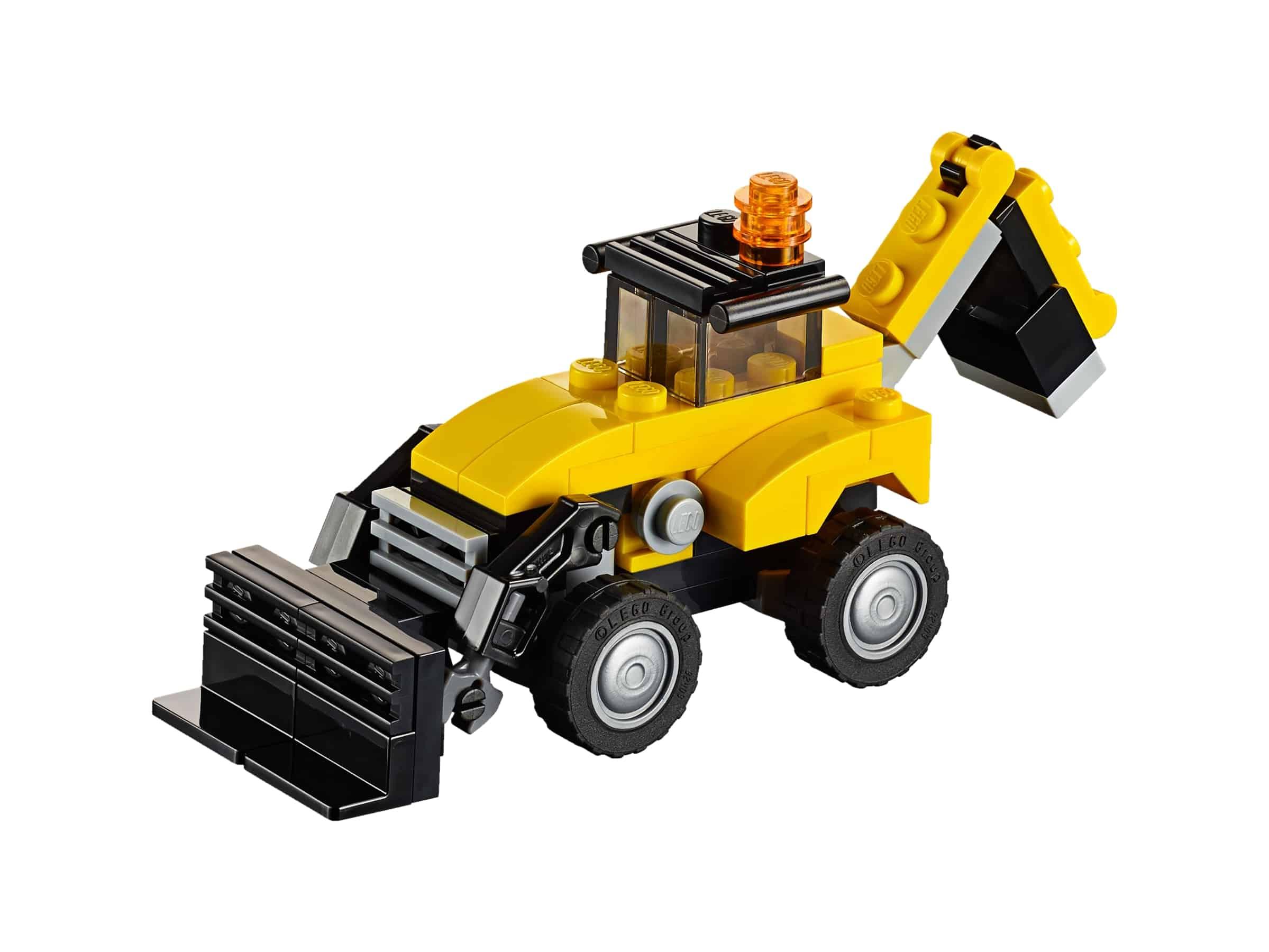 lego bouwvoertuigen 31041