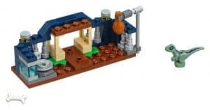 lego box voor de babyvelociraptor 30382