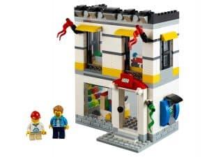 lego brand store op microschaal 40305