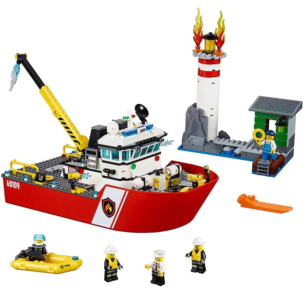 lego brandweerboot 60109