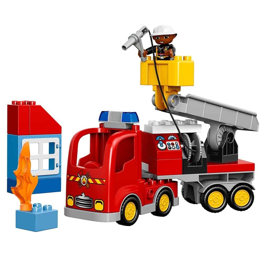 lego brandweertruck 10592