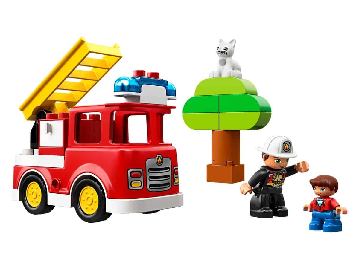 lego brandweertruck 10901