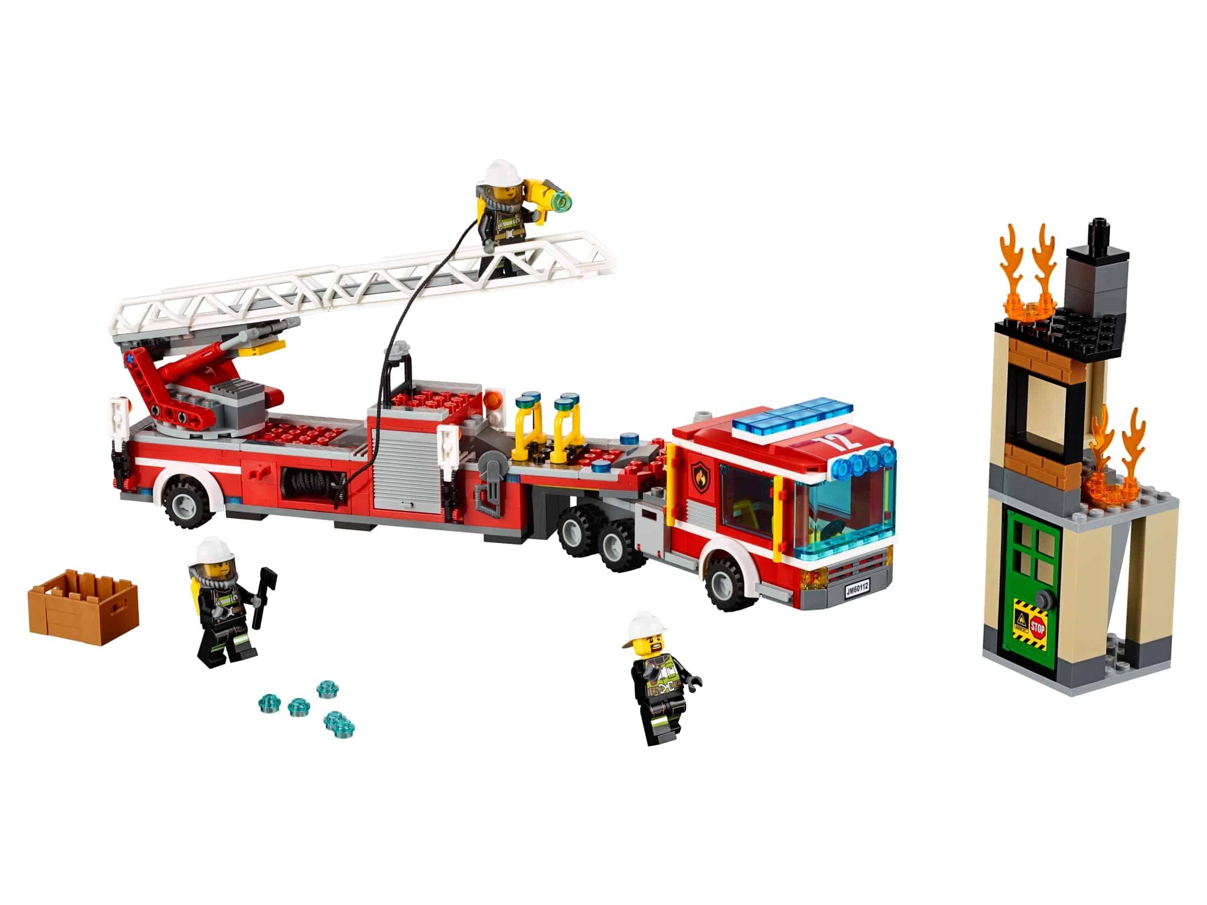 lego brandweerwagen 60112