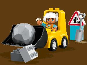lego bulldozer 10930