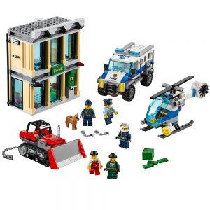 lego bulldozer inbraak 60140