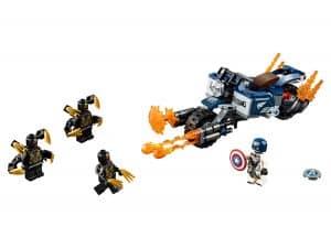 lego captain america aanval van de outriders 76123