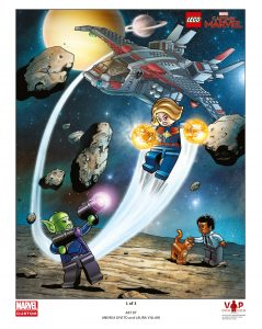 lego captain marvel poster 1 van 3 5005877