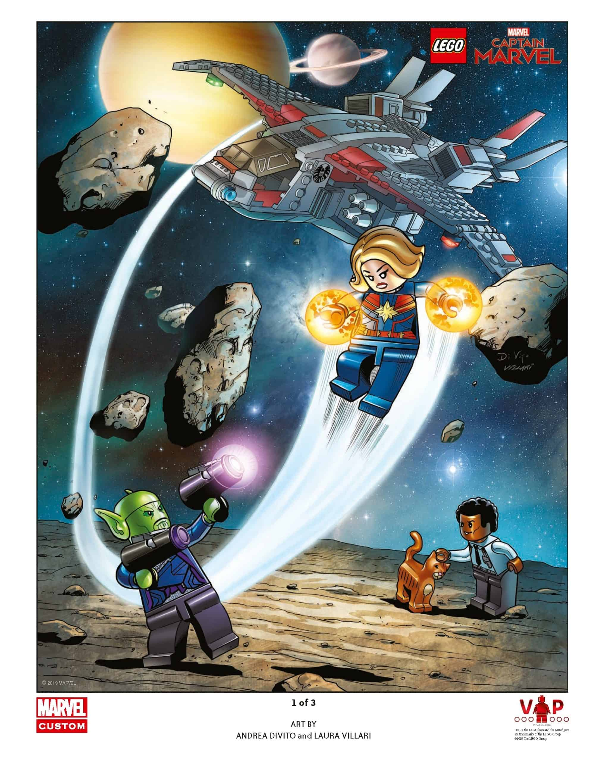 lego captain marvel poster 1 van 3 5005877 scaled