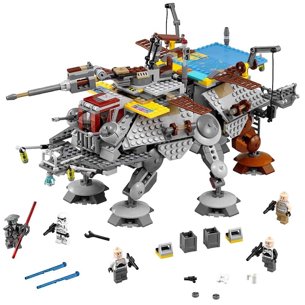 lego captain rexs at te 75157