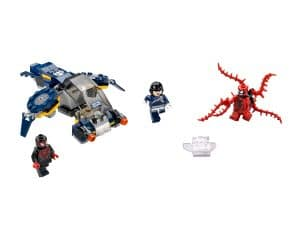 lego carnages shield luchtaanval 76036