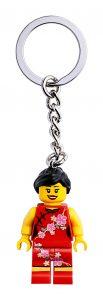 lego chinees bloemenmeisje sleutelhanger 854068